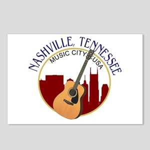 Nashville, TN Music City Postcards (Package of 8)