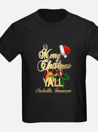 Merry Christmas Ya'll from Nashville, T-Shirt
