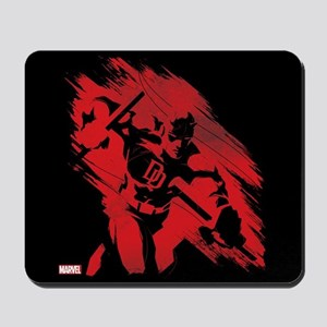 Daredevil Red Streak Mousepad
