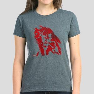 Daredevil Red Streak Women's Dark T-Shirt