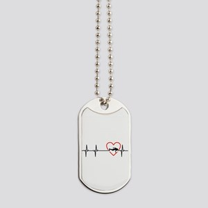 i love scuba diving Dog Tags