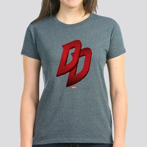 Daredevil Logo Women's Dark T-Shirt