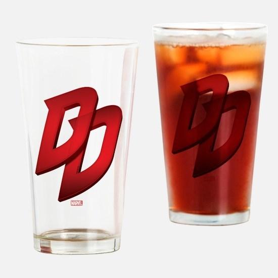 Daredevil Logo Drinking Glass