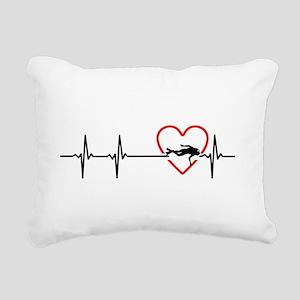 i love scuba diving Rectangular Canvas Pillow