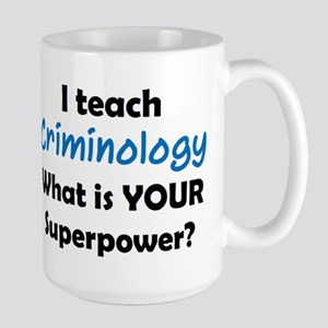 teach criminology Mugs