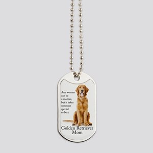 Golden Mom Dog Tags