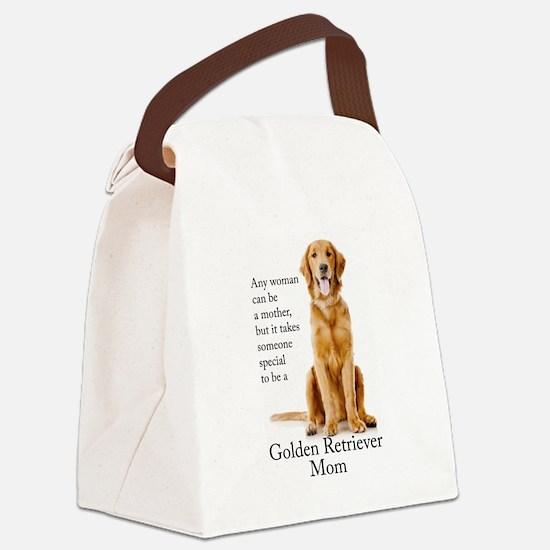 Golden Mom Canvas Lunch Bag