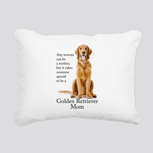 Golden Mom Rectangular Canvas Pillow