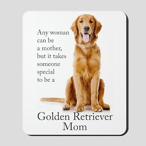 Golden Mom Mousepad