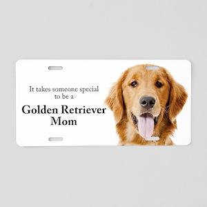 Golden Mom Aluminum License Plate