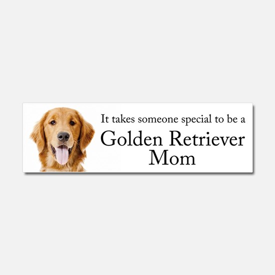 Golden Mom Car Magnet 10 x 3