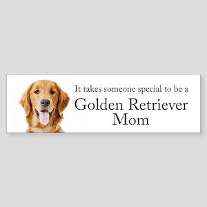 Golden Mom Bumper Sticker