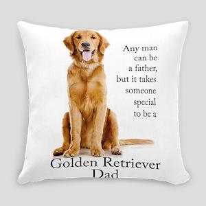 Golden Dad Everyday Pillow