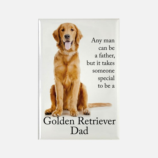 Golden Dad Magnets