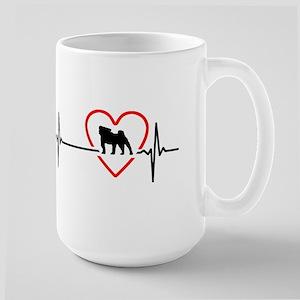 i love pug Mugs