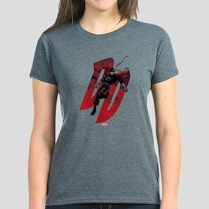 Daredevil Black Costume Women's Dark T-Shirt