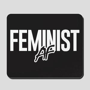 Feminist AF Mousepad