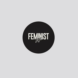 Feminist AF Mini Button