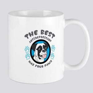 the best antidepressant has four paws Mugs