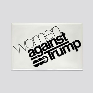 Women Against Trump Rectangle Magnet