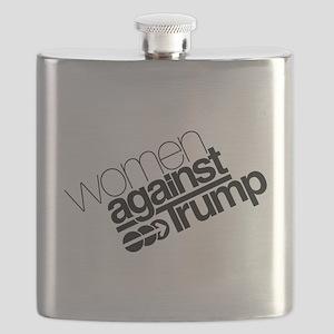 Women Against Trump Flask