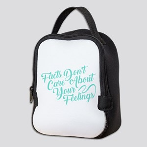 Facts Dont Care Neoprene Lunch Bag