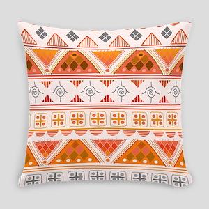 Boho Triangle Pattern v. 8 Everyday Pillow
