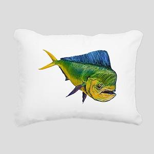 MAHI Rectangular Canvas Pillow