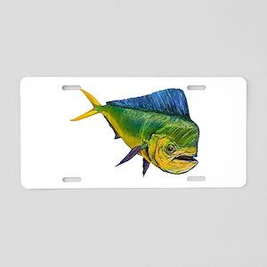 MAHI Aluminum License Plate