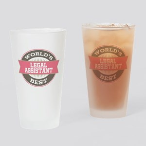 legal assistant Drinking Glass