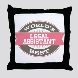 legal assistant Throw Pillow