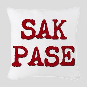 Sak Pase Woven Throw Pillow