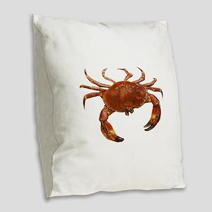 CLAWS Burlap Throw Pillow