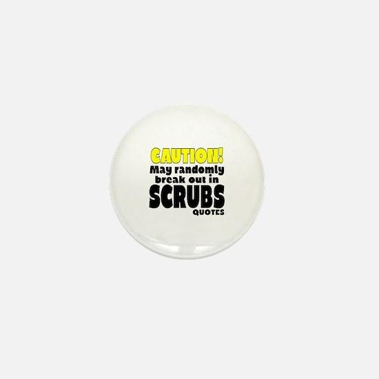 Cute Scrubstv Mini Button