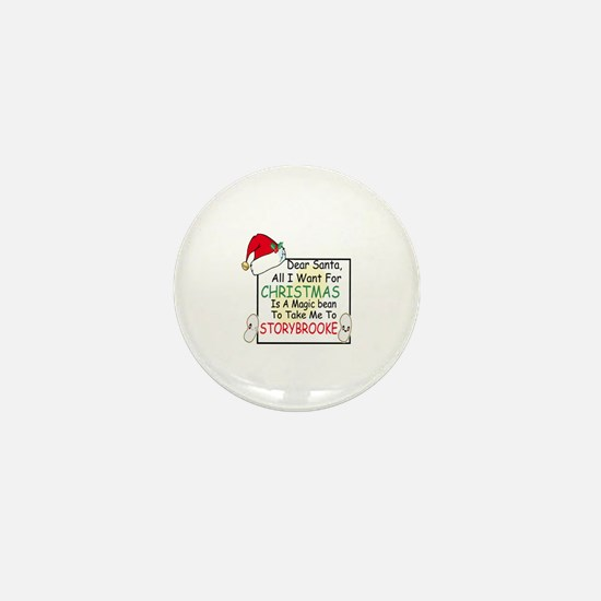 Cute Holiday movies Mini Button