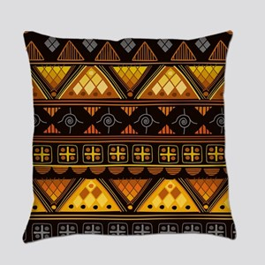 Boho Triangle Pattern v. 3 Everyday Pillow