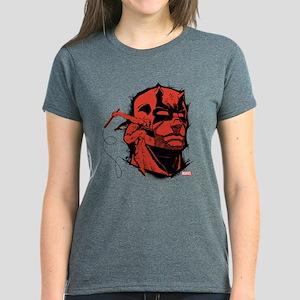 Daredevil Face Women's Dark T-Shirt