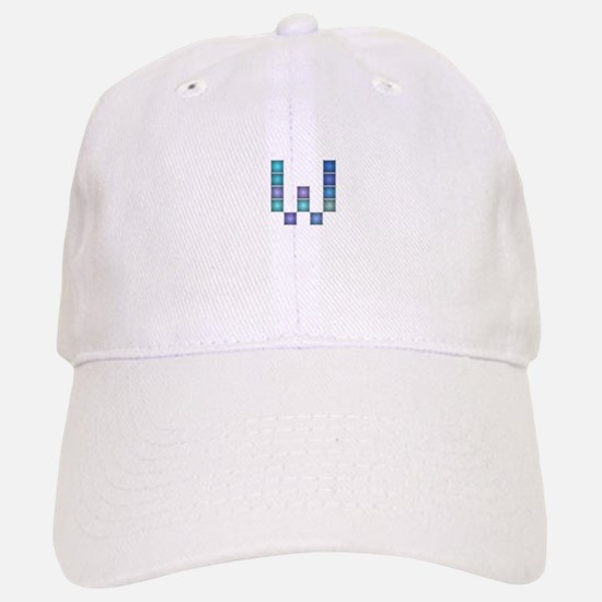 "Letter ""W"" (Pixels) Baseball Baseball Cap"