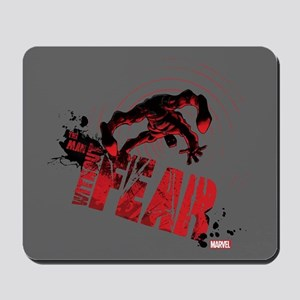 Daredevil Man Without Fear Red Mousepad