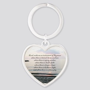 Prayer of St. Franics Keychains