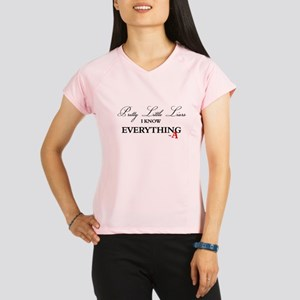 I Know Everything A Performance Dry T-Shirt