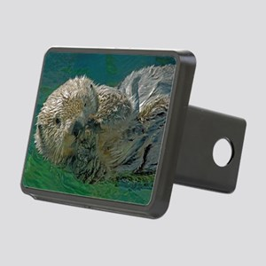 Sea Otter Rectangular Hitch Cover