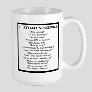 Thirty Second Scrooge Mugs