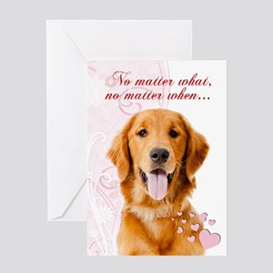 Golden retriever valentine greeting cards cafepress golden valentine greeting cards m4hsunfo