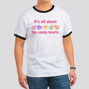 Candy Hearts II Ringer T
