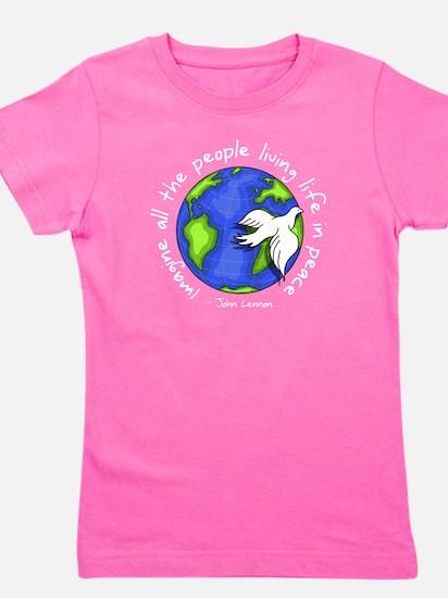 imagine_world_life_peace_dark T-Shirt
