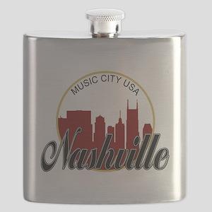 Nashville TN Music City - RD Flask