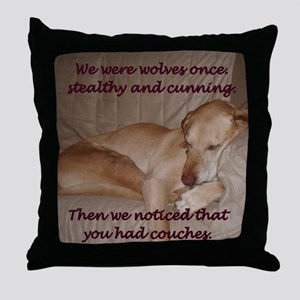 We Were Wolves 2 Throw Pillow