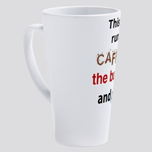 Caffeine Bullseye Prime 17 oz Latte Mug