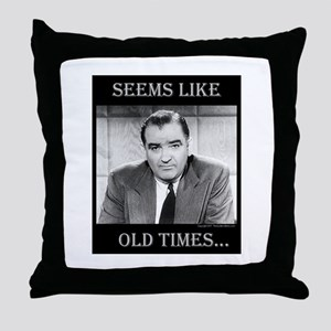 Joe McCarthy Throw Pillow